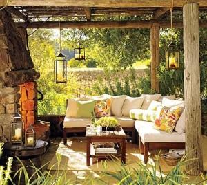 dream patio wfireplace
